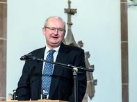 Pfarrer Arndt Sander von der Evangelischen Kirchgemeinde Mittweida.
