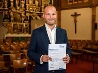 Thomas Floren, Carl-Georg-Weitzel-Preisträger 2019