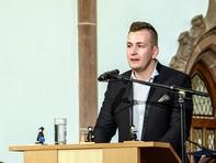 Gordon Guido Oswald, Geschäftsführer des Studentenrats der Hochschule Mittweida