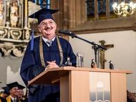 Prof. Dr. Ludwig Hilmer, Rektor der Hochschule Mittweida.